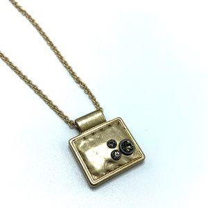 Lia Sophia Brushed Gold Necklace